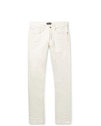 Мужские белые джинсы от Tom Ford