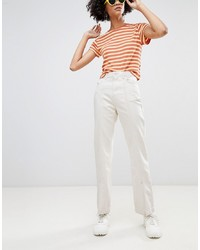 Женские белые джинсы от Weekday