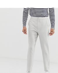 Мужские белые классические брюки от ASOS DESIGN