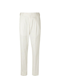 Мужские белые классические брюки от Caruso