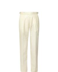 Мужские белые классические брюки от Zanella