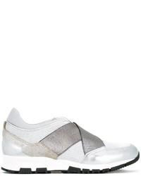 Женские белые кожаные кеды от Lanvin