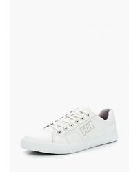 Женские белые кожаные низкие кеды от Helly Hansen