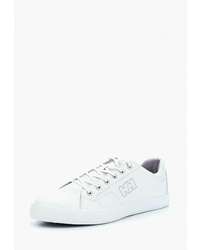 Мужские белые кожаные низкие кеды от Helly Hansen
