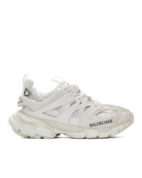 Женские белые кроссовки от Balenciaga