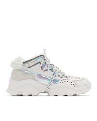 Мужские белые кроссовки от Kenzo