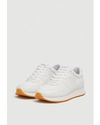Женские белые кроссовки от Pull&Bear