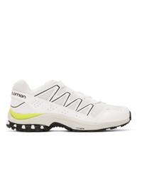 Мужские белые кроссовки от Salomon