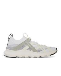 Мужские белые кроссовки от Z Zegna