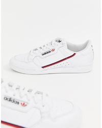 Мужские белые низкие кеды от adidas Originals