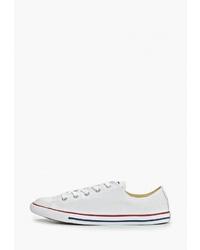 Женские белые низкие кеды от Converse
