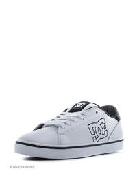 Мужские белые низкие кеды от DC Shoes