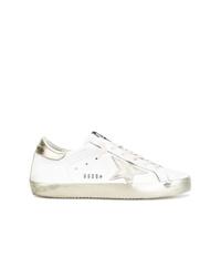 Женские белые низкие кеды от Golden Goose Deluxe Brand