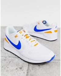 Мужские белые низкие кеды от Nike