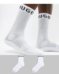Мужские белые носки от BOSS