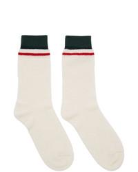Мужские белые носки от Gucci
