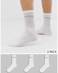Мужские белые носки от Reebok
