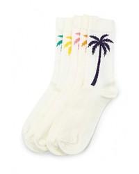 Мужские белые носки от Topman