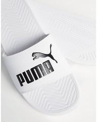Мужские белые сандалии от Puma