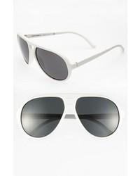 Белые солнцезащитные очки