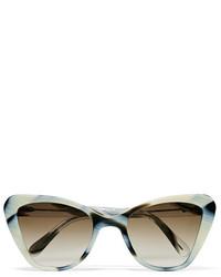 Женские белые солнцезащитные очки от Prism