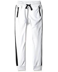 Белые спортивные штаны