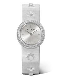 Женские белые часы от Buccellati