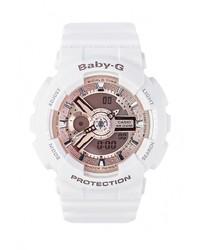 Женские белые часы от Casio
