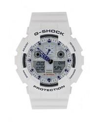 Мужские белые часы от CASIO