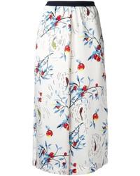 Женские белые широкие брюки от Antonio Marras