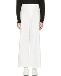 Женские белые широкие брюки от Isabel Marant