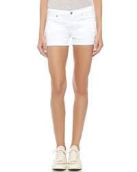 Женские белые шорты от 7 For All Mankind