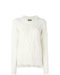 Женский белый вязаный свитер от Isabel Marant