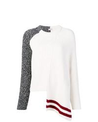 Женский белый вязаный свитер от MRZ