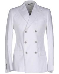 белый двубортный пиджак original 2635521