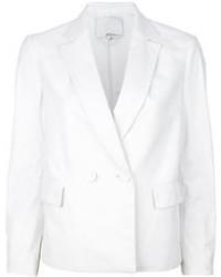 Женский белый двубортный пиджак от 3.1 Phillip Lim