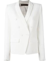 Женский белый двубортный пиджак от Alexandre Vauthier
