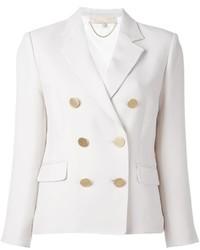 Женский белый двубортный пиджак от Vanessa Bruno