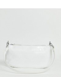 Белый кожаный клатч от My Accessories