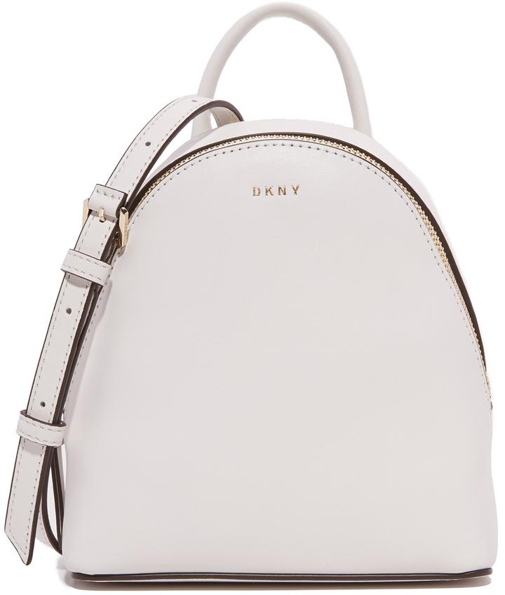 29224c5a35ee Женский белый кожаный рюкзак от DKNY, 16 066 руб. | shopbop.com ...