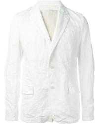 Мужской белый льняной пиджак от Sacai