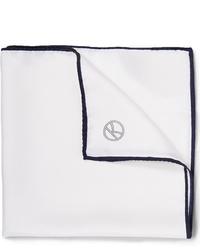 Белый нагрудный платок от Kingsman