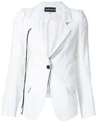 Женский белый пиджак от Ann Demeulemeester