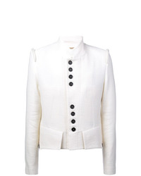Мужской белый пиджак от Ann Demeulemeester