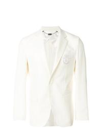 Мужской белый пиджак от Billionaire