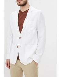 Мужской белый пиджак от Elijah & Sims