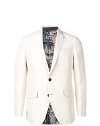 Мужской белый пиджак от Etro