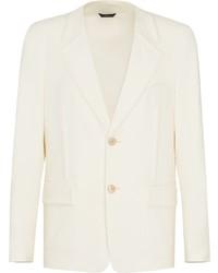Мужской белый пиджак от Fendi