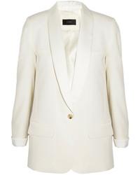 Женский белый пиджак от J.Crew