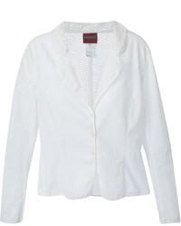 Женский белый пиджак от Kenzo